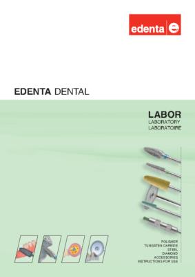Каталог Edenta лабораторный обновленный ENG